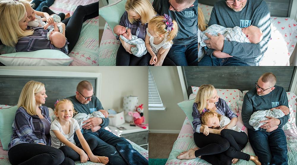 family Roanoke newborn photography