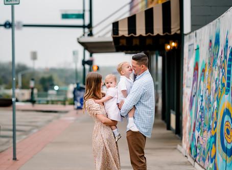 denton square // denton family photographer