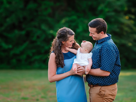 New Family of three // Southlake family photographer
