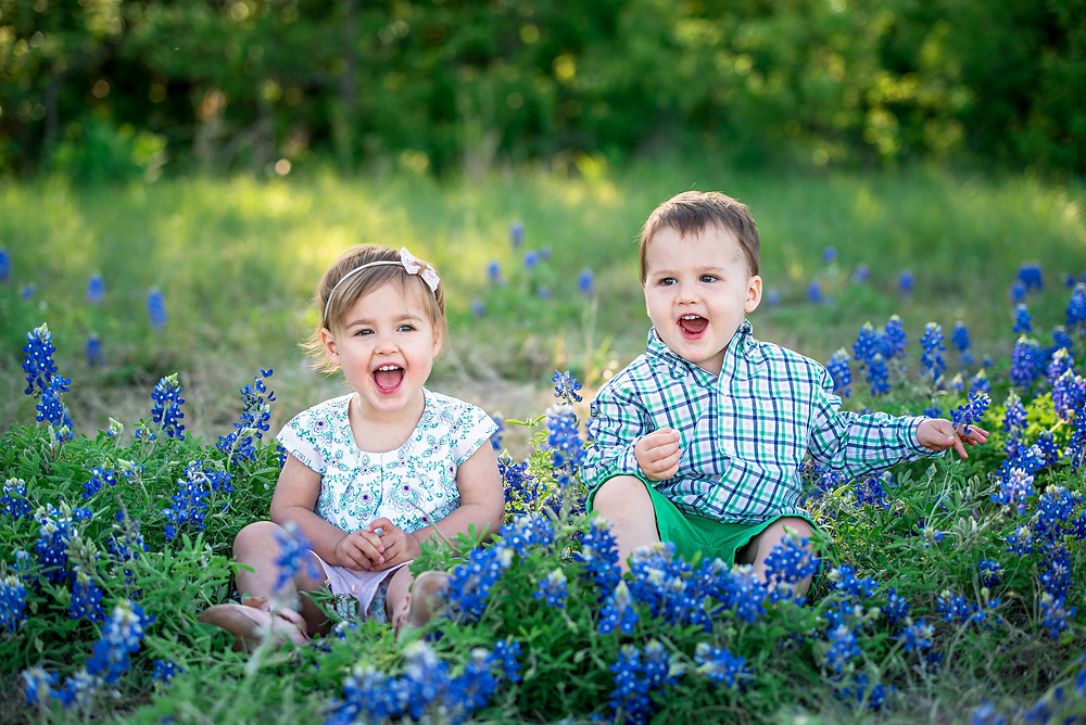 bluebonnets, Fort Worth photographer, Trophy Club, Southlake