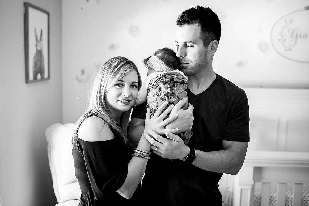 Fort Worth lifestyle newborn photographer
