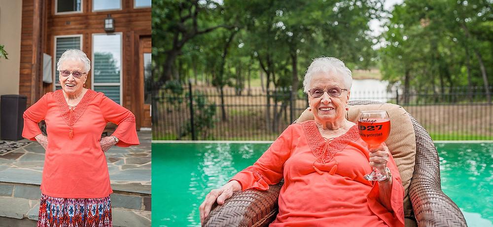 Sarah Hailey Photography Fort Worth Family Photographer grandma's birthday