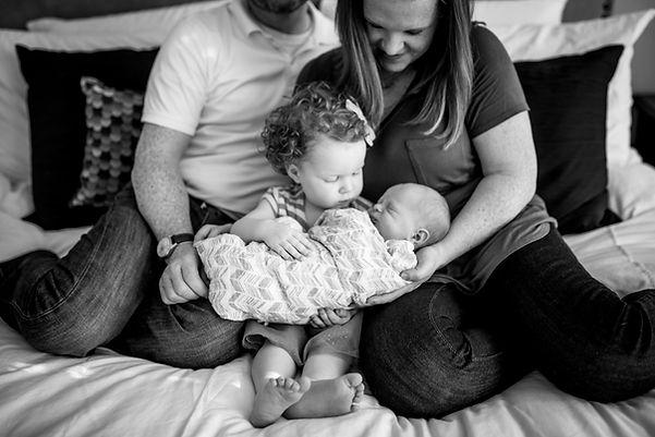 newborn family photo trophy club