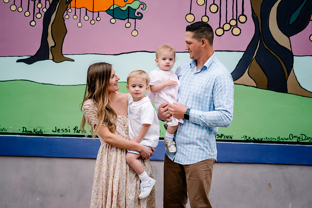 family photography Denton murals
