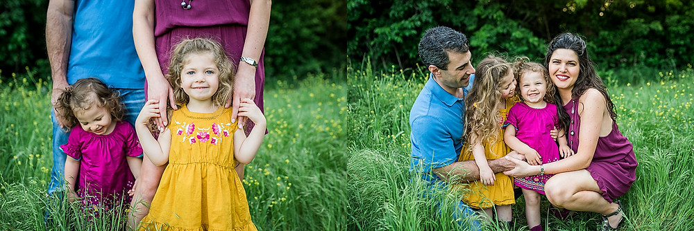 cute family, spring session, Fort Worth photographer