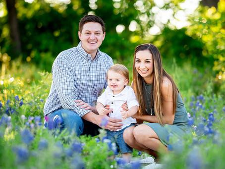 Bluebonnet Baby // Southlake Family Photographer