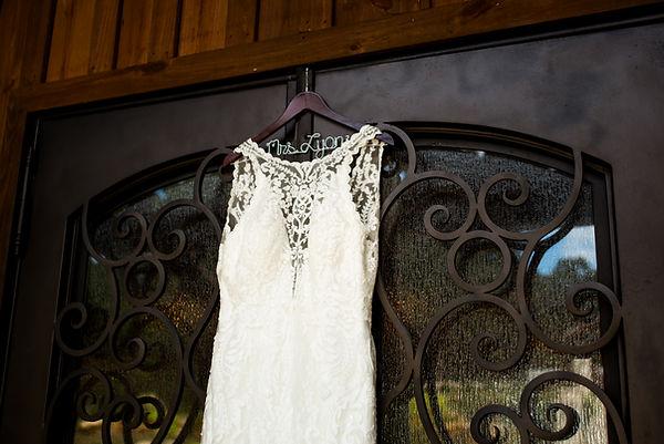 fort worth wedding dress details