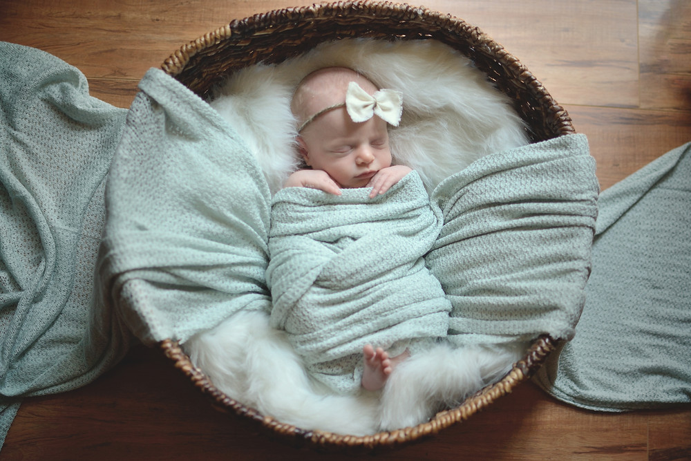 baby girl, Forth Worth newborn photographer