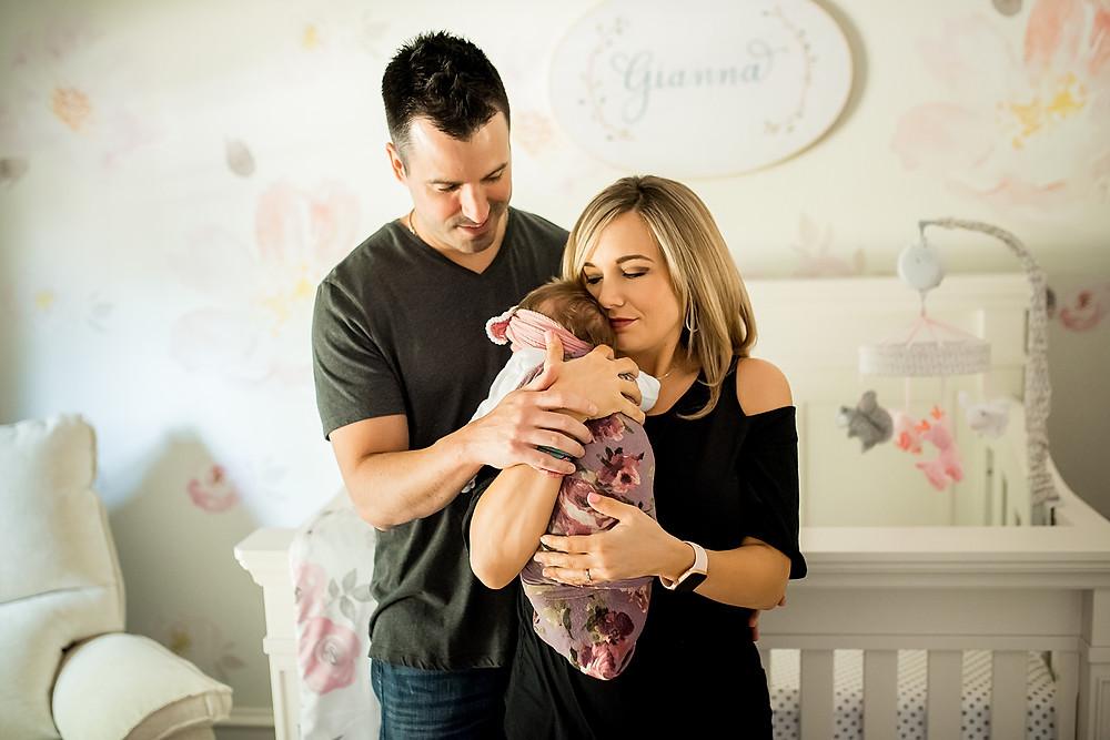 Southlake newborn photographer