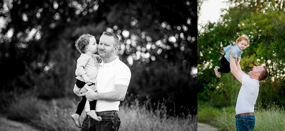 family and toddler, family maternity, Fort Worth maternity, Fort Worth photographer, Northwest Park, dad and daughter