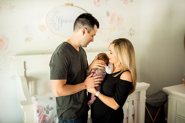 trophy club lifestyle newborn photographer