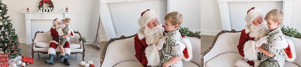 Westlake Santa mini session