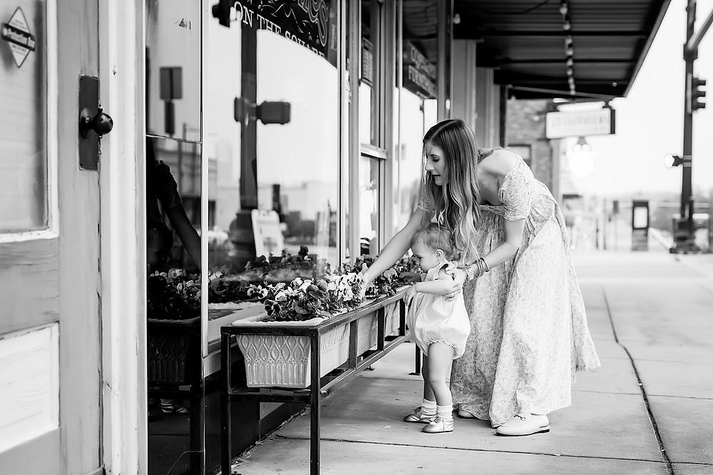 mom and daughter Denton, Texas