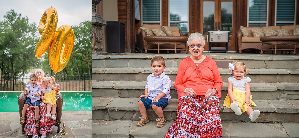 Sarah Hailey Photography Fort Worth Family Photographer grandmother and grandkids
