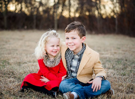 Sibling Love {Trophy Club Family Photographer}