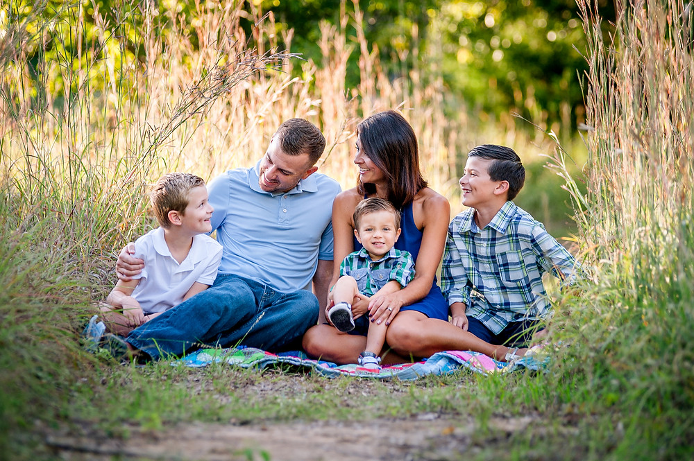 Fall Family Photos, Colleyville Photographer