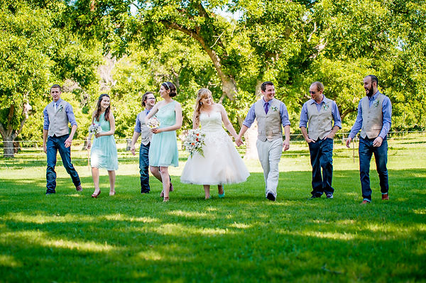 bridal party for worth weddings