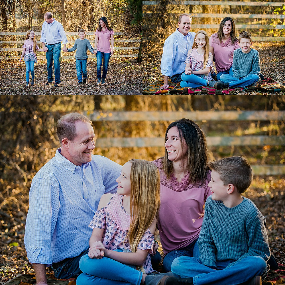 cute family at Bear Creek Park, family photos