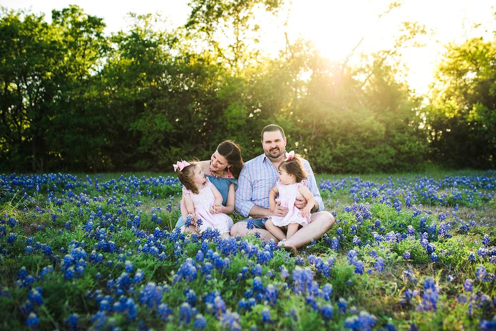 Texas bluebonnets, Fort Worth photographer, Trophy Club, Southlake