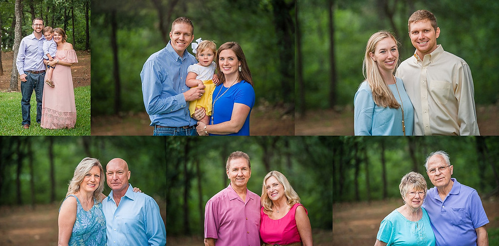 Sarah Hailey Photography Fort Worth Family Photographer extended family session