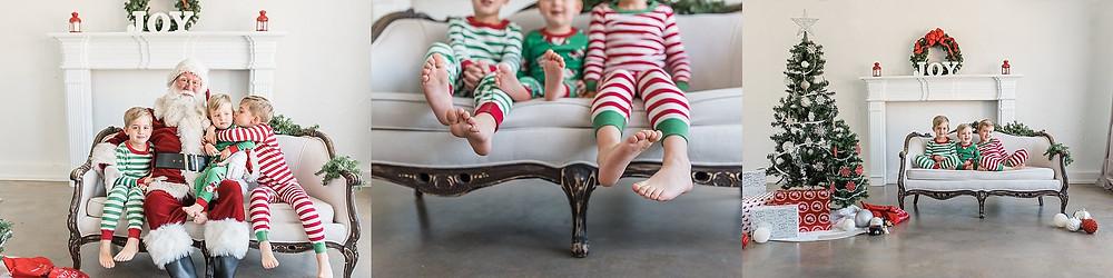 Fort Worth Santa mini session