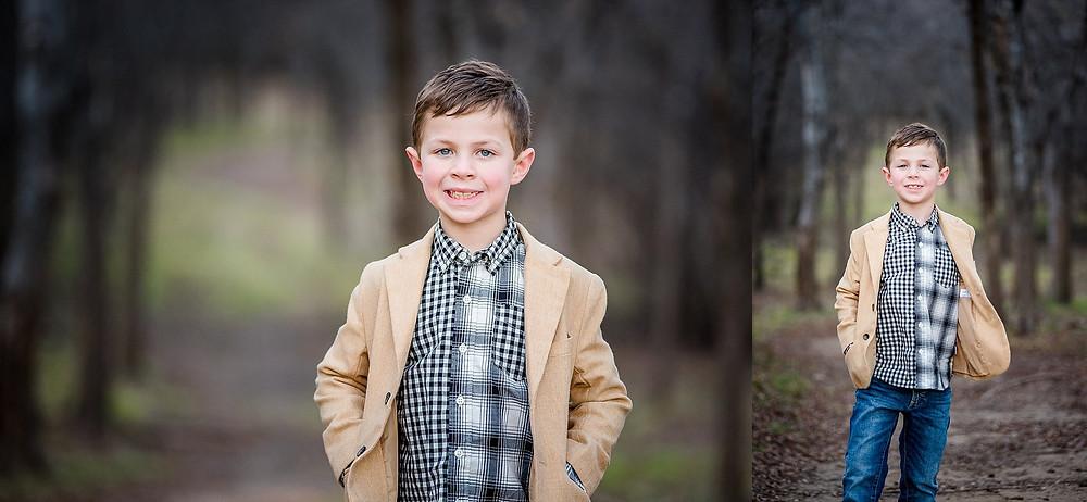 handsome boy in jacket Trophy Club