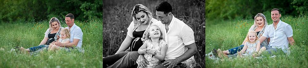 Keller family photographer, family of three, family photos