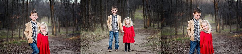 siblings in Trophy Club Park