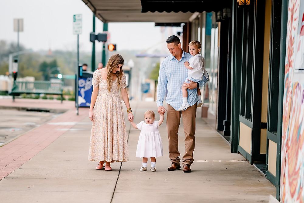 Family photography Denton Square
