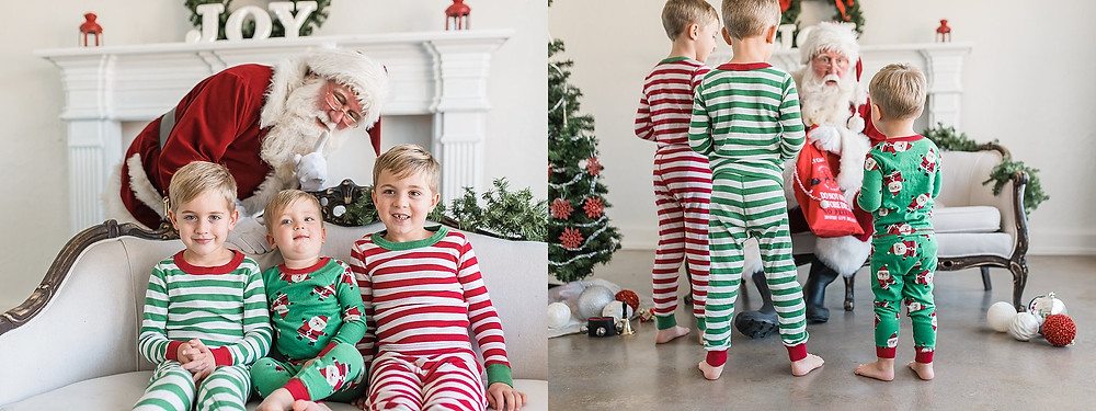 Southlake Santa mini session