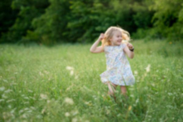 little girl spinning, Keller Pointe