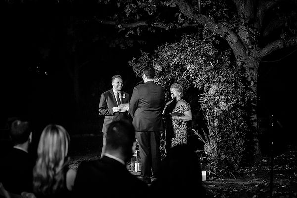 couple wedding at dallas arboretum