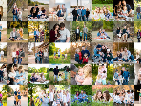 2019 recap // Fort Worth family photographer