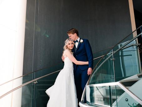 winter wedding // Southlake wedding photographer