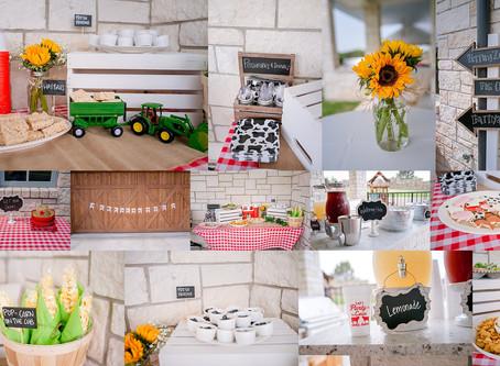 A Barnyard Birthday {Fort Worth Photographer}