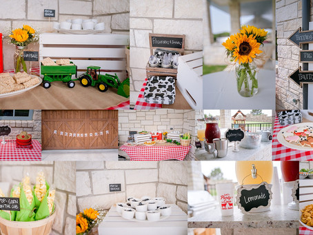 A Barnyard Birthday {Fort Worth Photographer}