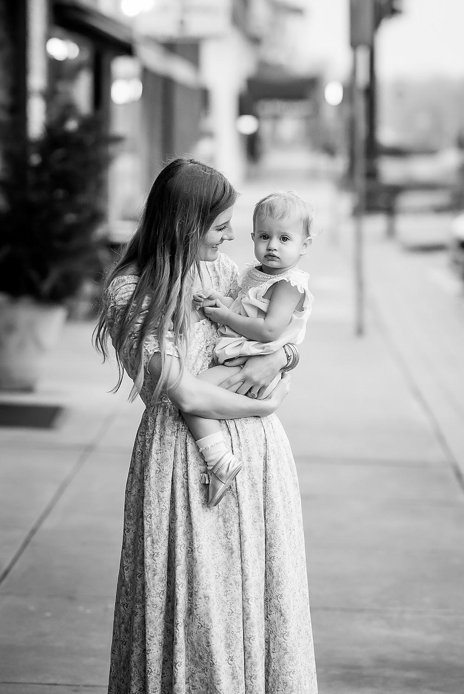 mom and baby Denton