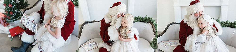 Santa session Fort Worth photographer