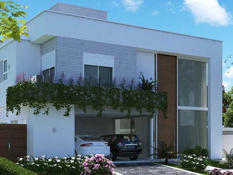 Projeto de Casa Condomínio Arborais Campinas