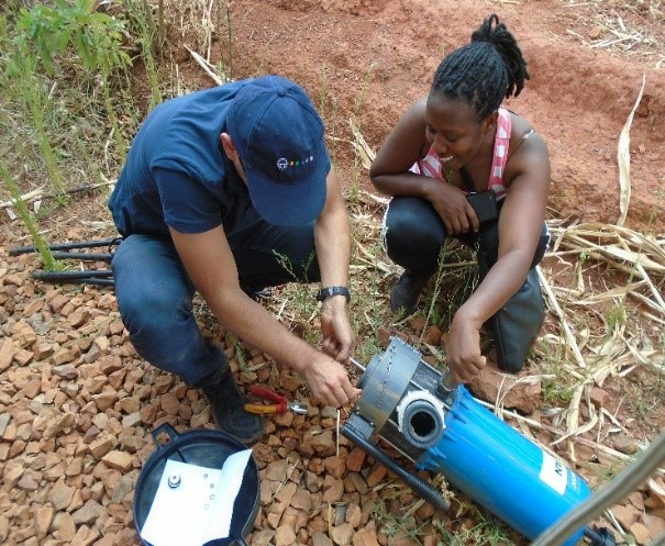 Maintenance D20WL2 AFRICA - Kevin Ghedini -  Graviwater