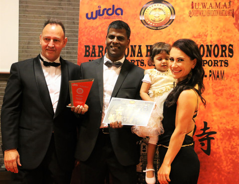 World Martial arts Cultural & sports Hall of Fame  Awards 2016 in Barcelona
