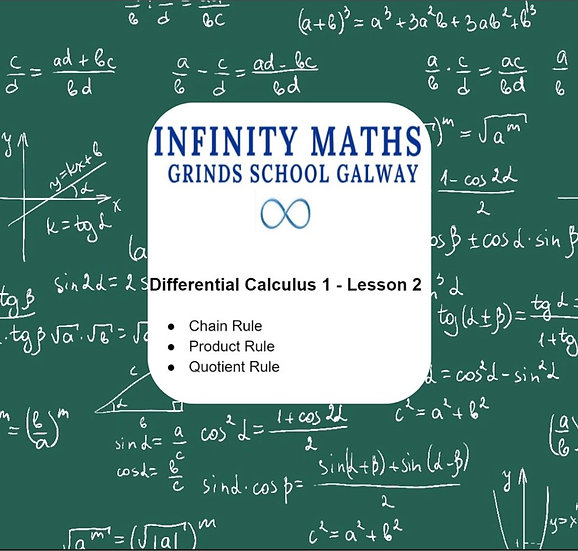 Differential Calculus 1 Lesson 2