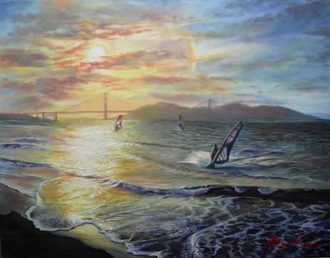 windsurfing_sunset_golden_gate_painting.