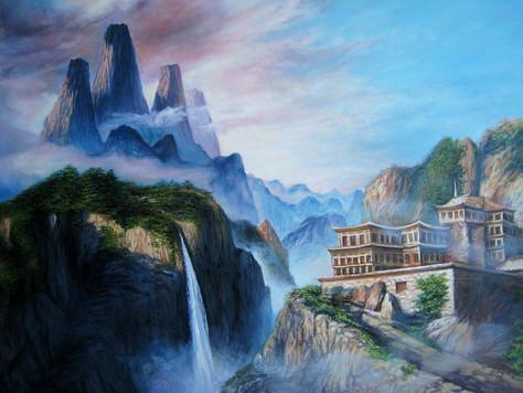 mystery_of_mountains_painting_olga_kucze