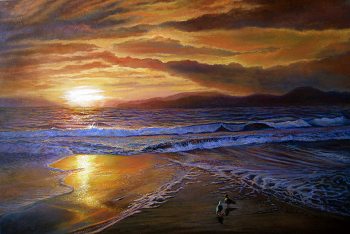 sunset_ocean_olga_kuczer_painting.JPG