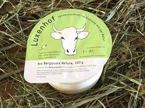 Bio Bergquark nature, 250 g Becher