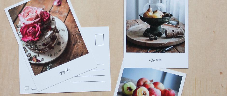 Postkartenset Herbst-Winter imraum Impressionen