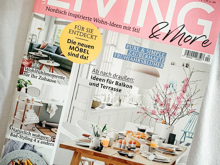 Feature im Living & More Magazin