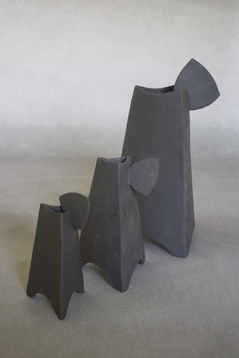Tri-pans grès noir