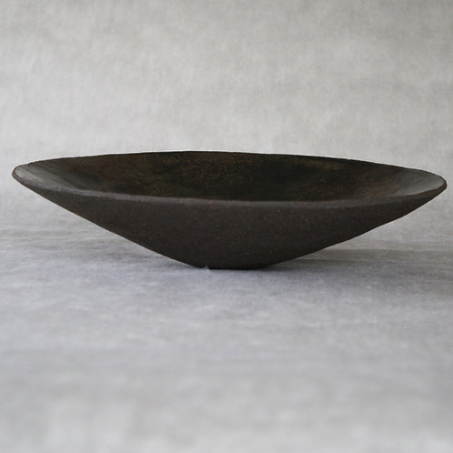 Black sandstone salad bowl 36